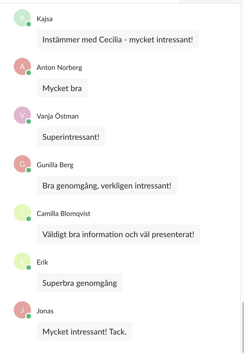 Svenskt näringsliv mätning